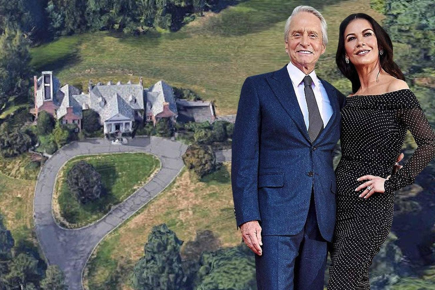 Catherine Zeta-Jones and Michael Douglas's £13m property trade-in