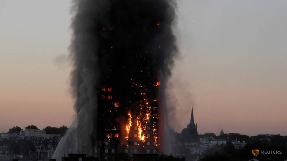 UK building sector hit by surge in insurance costs after Grenfell fire